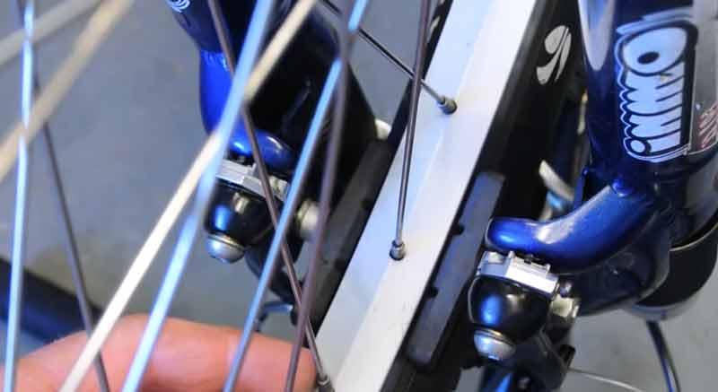Straighten Bike Wheel